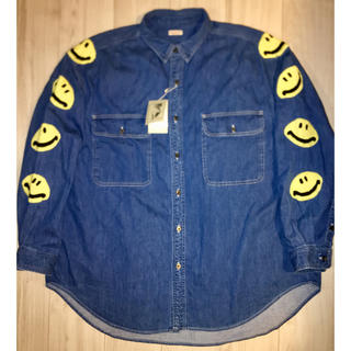 キャピタル(KAPITAL)のKAPITAL スマイル スマイリー シャツ ワークシャツ(シャツ)