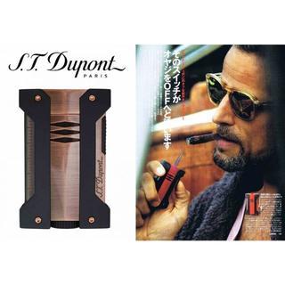 エステーデュポン(S.T. Dupont)のD820.. ST.Dupont デュポン LEON ターボ ライター ブロンズ(タバコグッズ)