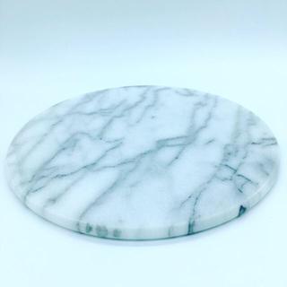 アクタス(ACTUS)の大理石プレート 新品未使用 23cm 円形(置物)