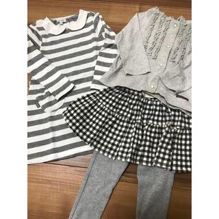 2aed4bf29bdf1 プティマイン(petit main)の子供服 女の子 まとめ売り(Tシャツ カットソー