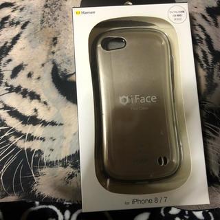 アップル(Apple)のアイフェイス ゴールドカラー(iPhoneケース)