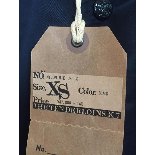 TENDERLOIN(テンダーロイン)の定価以下! tenderloin nylon rib jkt S ボルネオ メンズのジャケット/アウター(ナイロンジャケット)の商品写真