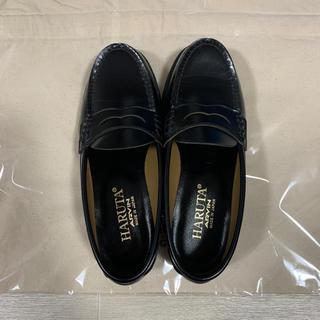 ハルタ(HARUTA)のましろ様専用 美品 ハルタ HARUTA ローファー 22.5 ㎝ 黒 (ローファー/革靴)