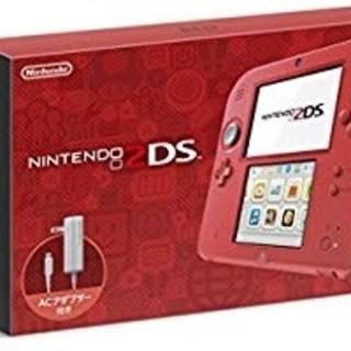 ニンテンドー2DS(ニンテンドー2DS)のニンテンドー2DS レッド(携帯用ゲーム本体)