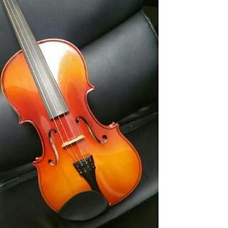 バイオリン 4/4 schmidt社製 バイオリン弓、肩当て、松脂セット(ヴァイオリン)