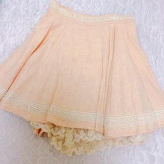 リズリサ(LIZ LISA)のLIZLISA ♡ レーススカート(ひざ丈スカート)