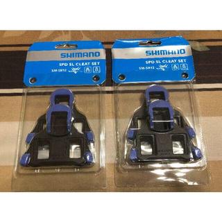 シマノ(SHIMANO)の新品・即納 SM-SH12 SPD-SL クリート 2組セット(その他)