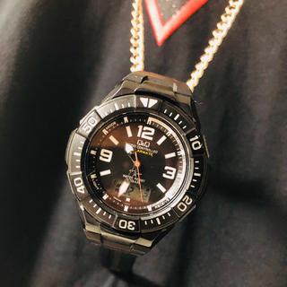 キュー(Q)の電波時計 腕時計 Q&Q(腕時計)