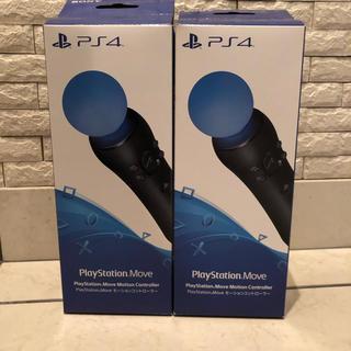 プレイステーションヴィーアール(PlayStation VR)の純正 Play Station4 モーションコントローラー×2 USBケーブル付(その他)
