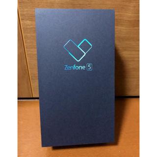 エイスース(ASUS)のZenFone5 未開封新品 シャイニーブラック(スマートフォン本体)