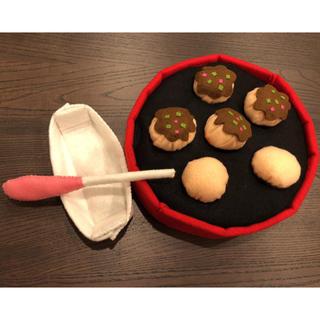 手作りフェルト☆たこ焼き遊び(おもちゃ/雑貨)