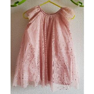 571b2420a04c0 ベビーギャップ(babyGAP)の専用 90㎝ 新品 チュール ワンピース ピンク 星プリント baby