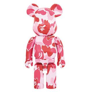 MEDICOM TOY - BE@RBRICK ABC CAMO 1000% PINK