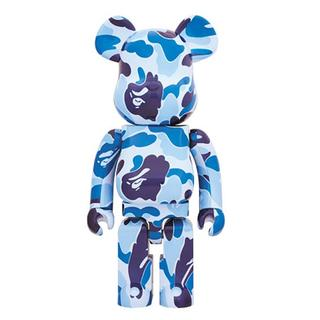 MEDICOM TOY - BE@RBRICK ABC CAMO 1000% BLUE
