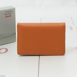 アウディ(AUDI)のアウディ 名刺入れ カードケース 正規品(名刺入れ/定期入れ)
