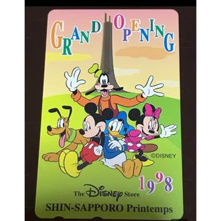 ディズニー(Disney)の新品未使用レア 限定版 DISNEYテレフォンカード(その他)