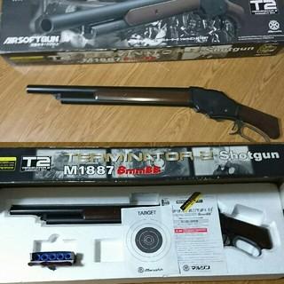 ターミネーター2 shotgun M1887 8mmBB(ミリタリー)