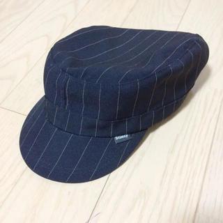 ステューシー(STUSSY)のstussy  ストライプ 帽子 (その他)