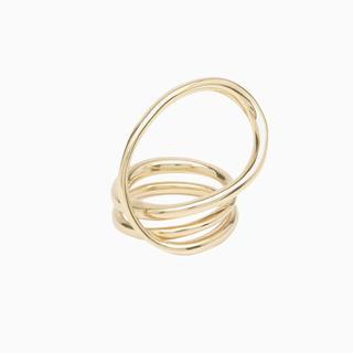 エストネーション(ESTNATION)の新品✴︎箱付✴︎シャルロットシェネ ラウンドトリップリング シルバー&ゴールド(リング(指輪))