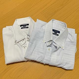 タカキュー(TAKA-Q)のワイシャツ 長袖 タカキュー 2枚セット メンズ M-80(シャツ)