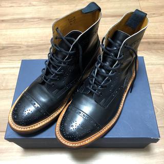 トリッカーズ(Trickers)の美品 トリッカーズ  セミブローグ 8H 8.5 TRICKER'S M7046(ブーツ)