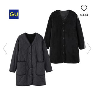 ジーユー(GU)のGU  リバーシブルライナージャケット(ブラック)(ミリタリージャケット)