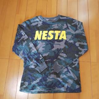ネスタブランド(NESTA BRAND)のNESTA長袖TシャツメンズLサイズ美品(Tシャツ/カットソー(七分/長袖))