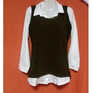 シューラルー(SHOO・LA・RUE)のSHOO-IA-RUE ニットシャツ(ニット/セーター)