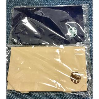 タリーズコーヒー(TULLY'S COFFEE)のタリーズコーヒー オリジナル巾着トートバック 2種類セット(ノベルティグッズ)