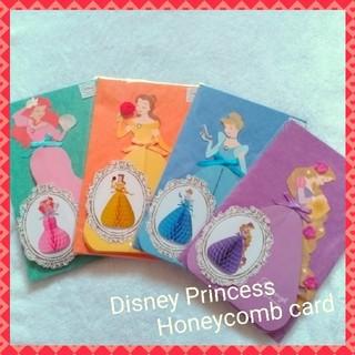 ディズニー(Disney)の新品 ドレス当て ハニカムカード(ウェルカムボード)