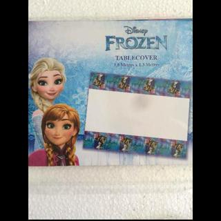 ディズニー(Disney)のアナ雪 テーブルカバー(テーブル用品)