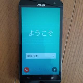 エイスース(ASUS)のASUS  Zenfone2laser  本体のみ Wi-Fi接続不可(スマートフォン本体)