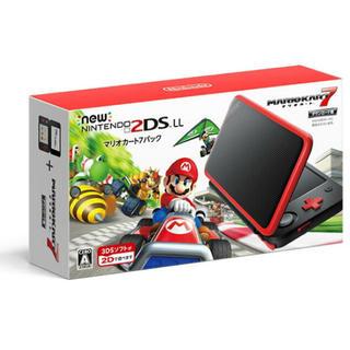 ニンテンドー2DS(ニンテンドー2DS)のマリオカート7パック 2DS LL(携帯用ゲーム本体)