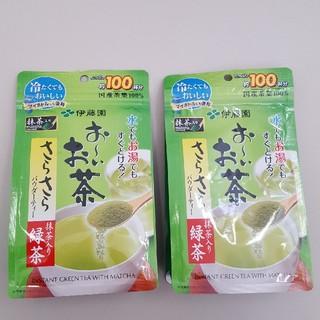 イトウエン(伊藤園)のおーいお茶 さらさらパウダーティー 2袋(茶)