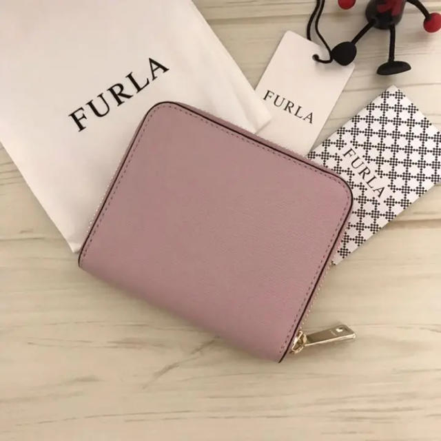 56a9bbe1b53f Furla - 新品 FURLA(フルラ) 財布 カメリア ピンクの通販 by NON's shop ...