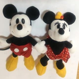 ミッキーマウス - ディズニー ミッキーとミニー ぬいぐるみ