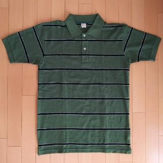 ウエアハウス(WAREHOUSE)のWAREHOUSE ボーダー ポロシャツ サイズM(ポロシャツ)
