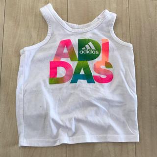 アディダス(adidas)のアディダス 12ヶ月サイズ タンクトップ (タンクトップ/キャミソール)