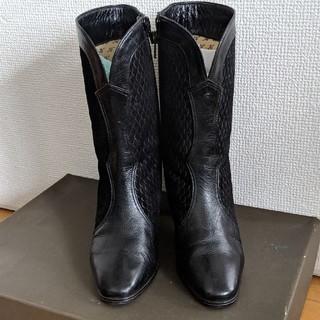 ギンザカネマツ(GINZA Kanematsu)のジーナ ブーツ 22.5(ブーツ)