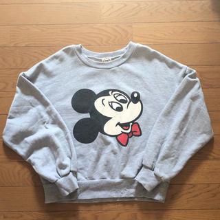ディズニー(Disney)のAG スウェット グレー ミッキーマウス(トレーナー/スウェット)