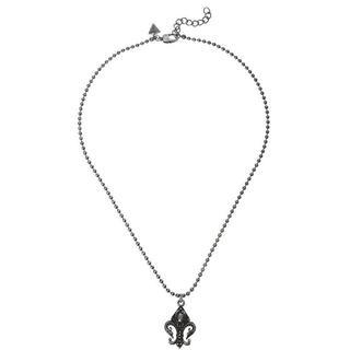 ゲス(GUESS)のGUESS FLEUR DE LIS メンズ ネックレス Necklace(ネックレス)