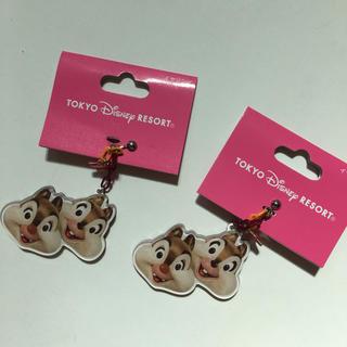 ディズニー(Disney)のチップ デール イヤリング 2つセット(イヤリング)