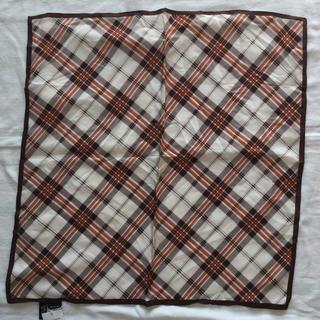 エムケークランプリュス(MK KLEIN+)のシルクスカーフ(バンダナ/スカーフ)