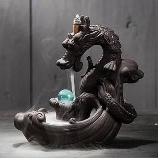 龍 お香 香炉 置物 風水(お香/香炉)