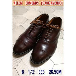 アレンエドモンズ(Allen Edmonds)のアレンエドモンズ 「パークアベニュー」 8 1/2 EEE バーガンディ(ドレス/ビジネス)