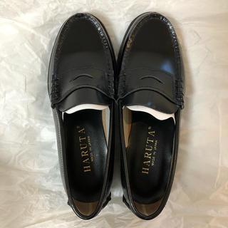 ハルタ(HARUTA)のHARUTA 本革 ローファー ブラック(ローファー/革靴)