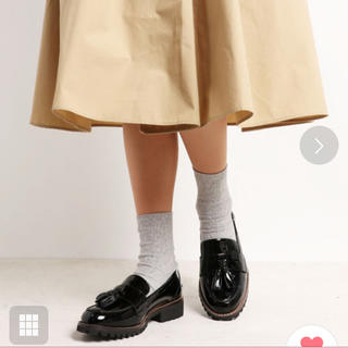 ハルタ(HARUTA)のenchanted  本革タンクソールタッセルローファー(ローファー/革靴)