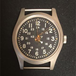 ハミルトン(Hamilton)の米軍放出品 Hamilton ハミルトン 腕時計 実物 1977年(腕時計(アナログ))