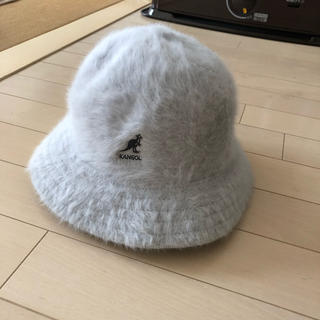 KANGOL - カンゴール 帽子 アンゴラファー ハット L