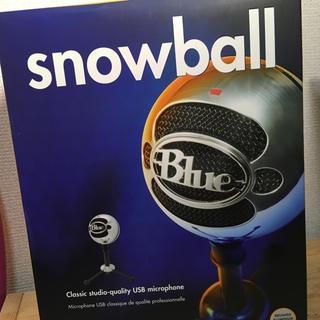 blue micro snowball クローム色(その他)